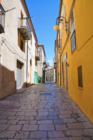 basilicata: Alleyway. Pietragalla. Basilicata. Italy.