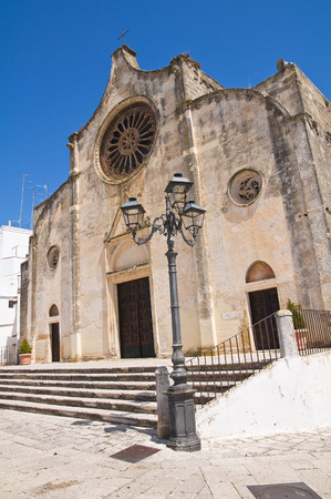 Mother Church of Laterza. Puglia. Italy. photo