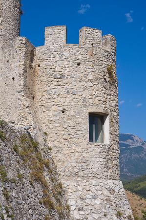 calabria: Castle of Morano Calabro. Calabria. Italy.