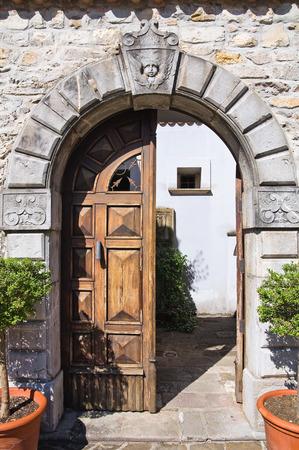 lucania: Loreti Palace. Satriano di Lucania. Italy.