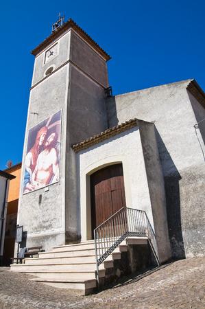 lucania: Church of Assunta. Satriano di Lucania. Italy.