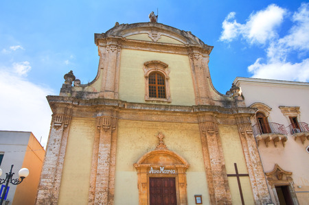 francesco: Church of St. Francesco. Fasano. Puglia. Italy.