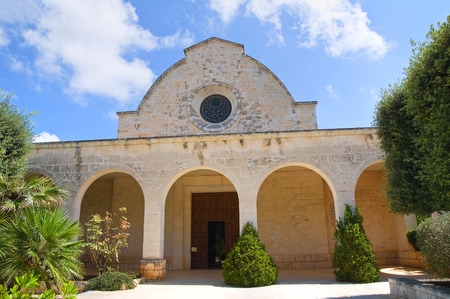 selva: Church of SS. Maria Addolorata. Fasano. Puglia. Italy.