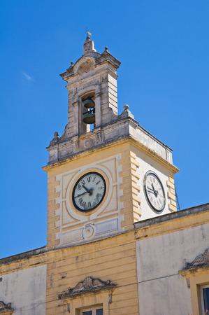 clocktower: Clocktower. Fasano. Puglia. Italy.