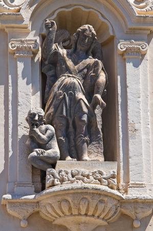 foggia: Church of Carmine. San Severo. Puglia. Italy.