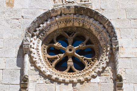 urbanistic: Church of St. Severino. San Severo. Puglia. Italy.