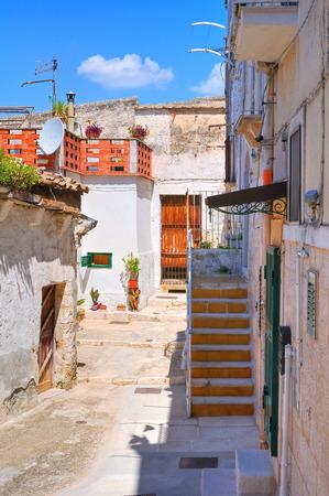 Alleyway. Minervino Murge. Puglia. Italy. photo