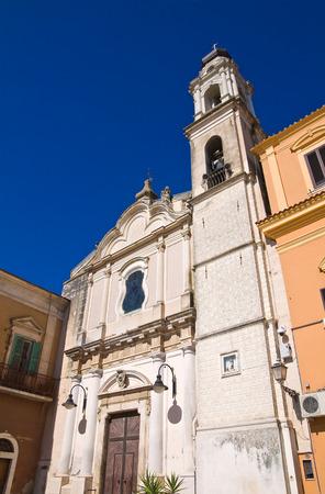carmine: Chiesa del Carmine a Torremaggiore, Puglia, Italia.