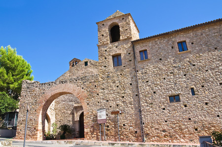 franciscan: Franciscan monastery. Rocca Imperiale. Calabria. Italy.