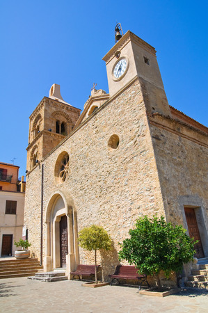 Mother Church of Rocca Imperiale. Calabria. Italy. photo