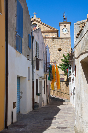 calabria: Alleyway. Rocca Imperiale. Calabria. Italy. Editorial