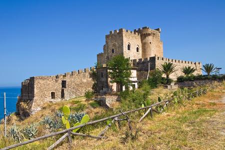 capo: Castle of Roseto Capo Spulico. Calabria. Italy. Editorial