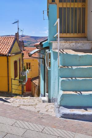 Alleyway. Pietragalla. Basilicata. Italy. photo