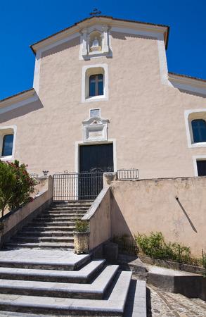 Mother Church of Morano Calabro. Calabria. Italy. photo