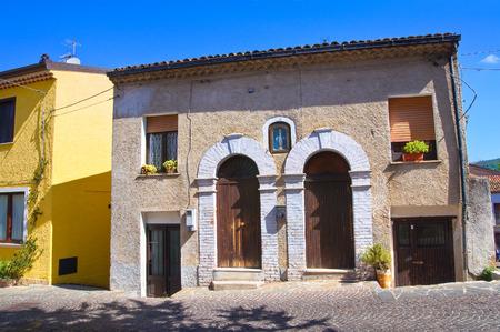 lucania: Alleyway. Satriano di Lucania. Italy.