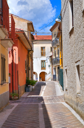 basilicata: Alleyway. Brienza. Basilicata. Italy.