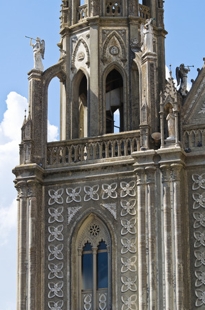 anna: Church of St. Anna. Montesano sulla Marcellana. Campania. Italy. Stock Photo