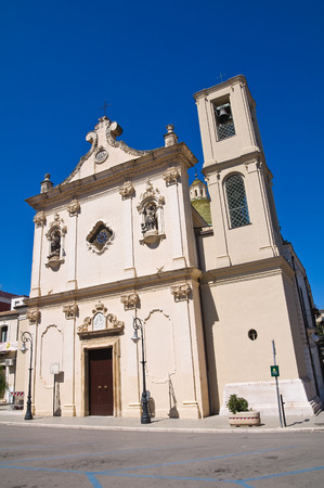 Church of Carmine in San Severo, Puglia, Italy. photo