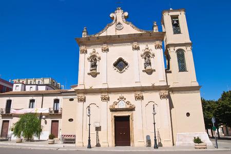 carmine: Chiesa del Carmine a San Severo, Puglia, Italia.