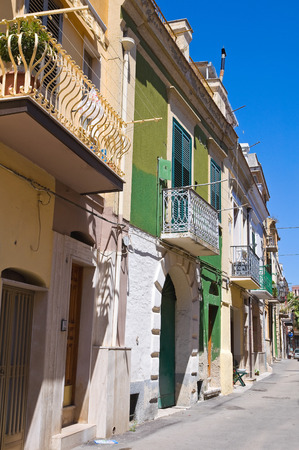 urbanistic: Alleyway. San Severo. Puglia. Italy. Stock Photo
