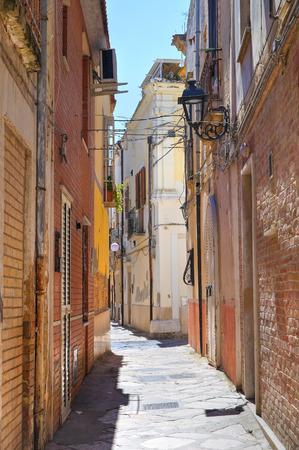 Alleyway in San Severo, Puglia, Italy.