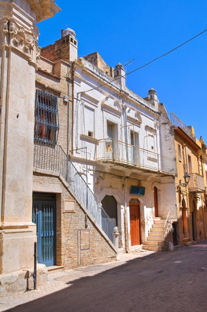 urbanistic: Buildings in San Severo, Puglia, Italy. Stock Photo