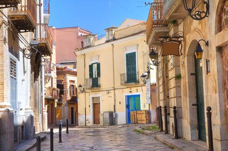 foggia: Alleyway in San Severo, Puglia, Italy.