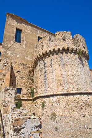 urbanistic: Swabian Castle of Rocca Imperiale. Calabria. Italy. Editorial
