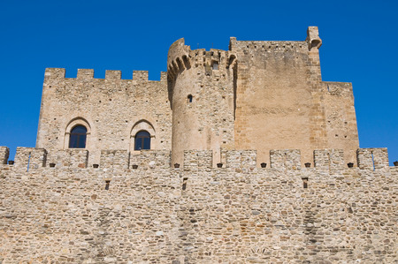 urbanistic: Castle of Roseto Capo Spulico. Calabria. Italy. Editorial