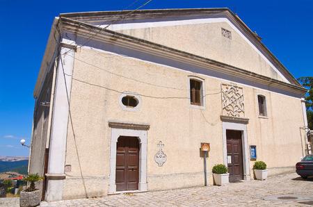 potenza: Church of Madonna delle Grazie. Pietragalla. Basilicata. Italy.