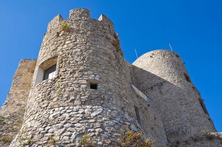 urbanistic: Castle of Morano Calabro. Calabria. Italy.