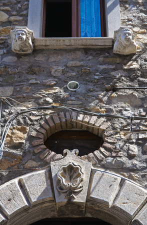 potenza: Historical Palace. Satriano di Lucania. Italy.