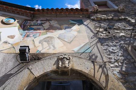 lucania: Historical Palace. Satriano di Lucania. Italy.