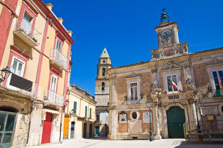 foggia: Town Hall Building. San Severo. Puglia. Italy. Editorial