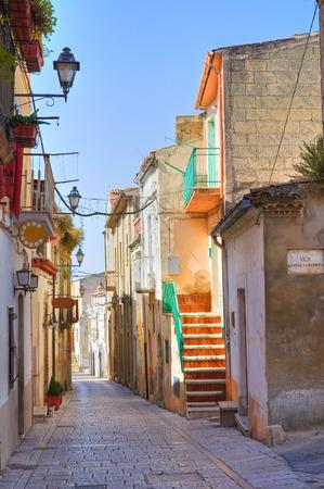 potenza: Alleyway. Genzano di Lucania. Italy.