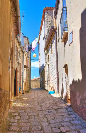 potenza: Alleyway. Pietragalla. Basilicata. Italy.
