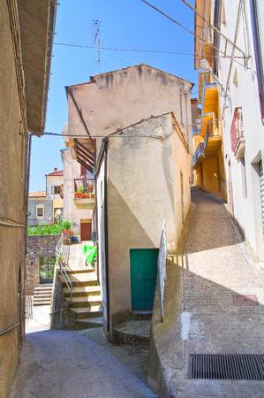 basilicata: Alleyway. Viggianello. Basilicata. Italy.