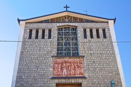 lucania: Mother Church of Satriano di Lucania. Italy.
