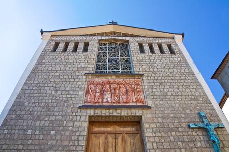 potenza: Mother Church of Satriano di Lucania. Italy.