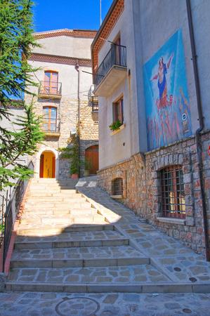 potenza: Alleyway. Satriano di Lucania. Italy.