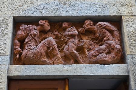 piacenza: Palacio hist�rico. Piacenza. Emilia-Roma�a. Italia.