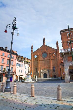 piacenza: Iglesia de San Francesco. Piacenza. Emilia-Roma�a. Italia.