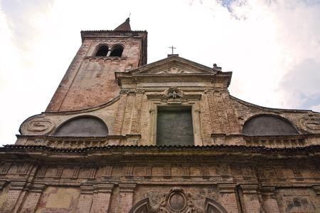 piacenza: Church of St. Nazzaro. Piacenza. Emilia-Romagna. Italy.