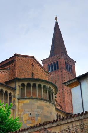 piacenza: Cathedral Church of Piacenza. Emilia-Romagna. Italy.