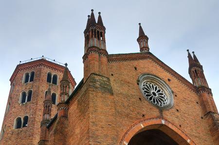 piacenza: Iglesia de San Antonino. Piacenza. Emilia-Roma�a. Italia.
