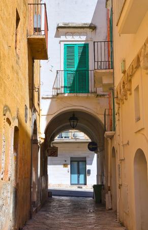 Alleyway. Fasano. Puglia. Italy.