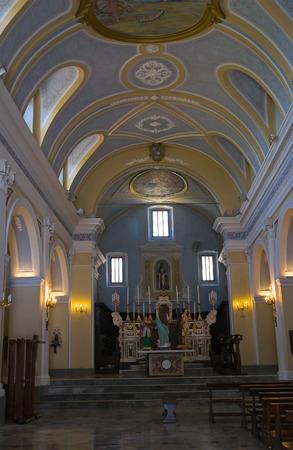 potenza: Mother Church of Viggianello. Basilicata. Italy.
