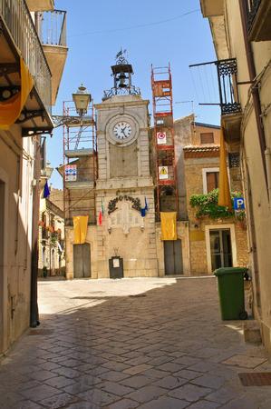 potenza: Alleyway. Acerenza. Basilicata. Italy.