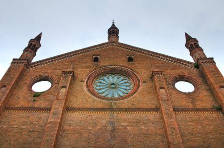 francesco: Church of St. Francesco. Piacenza. Emilia-Romagna. Italy.