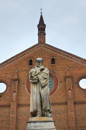 piacenza: Church of St. Francesco. Piacenza. Emilia-Romagna. Italy.